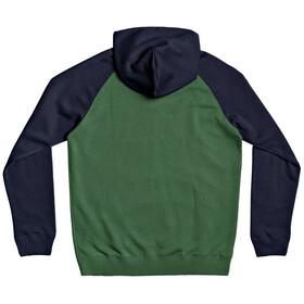 Quiksilver Everyday Hættetrøje Herrer, grøn/blå